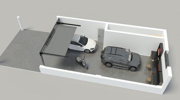 Planta garaje